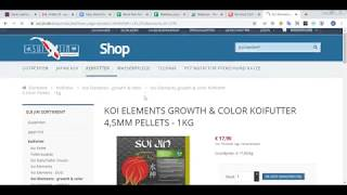 How To Purchase Koifutter kaufen from Koifutter Online Shop-Sui-jin.de