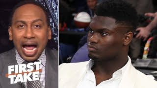 Zion isn't a superstar until he proves it with the Pelicans - Stephen A. | First Take