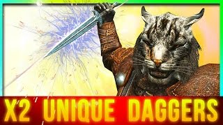 Skyrim Best Weapon at Level 1 for FAST Attacks Dual Wielding (2 Unique Dagger Locations)