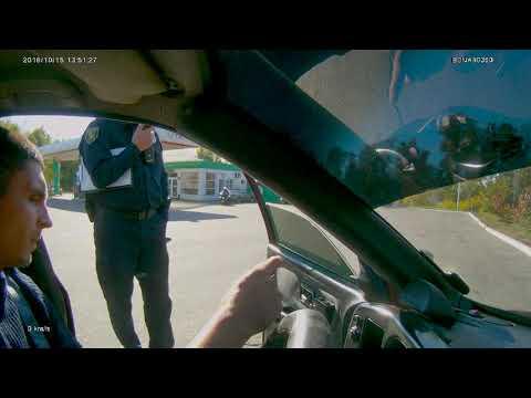 Штраф за тонировку на стопах. корона жмет полицейскому