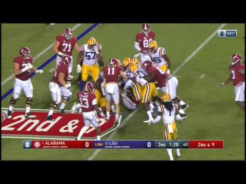 Alabama Crimson Tide at LSU Tigers in 30 Minutes - 11/5/16