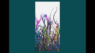 Fluid Acrylics, Delightful Tall Garden Of Weeden- Eden #4590-3.15.19
