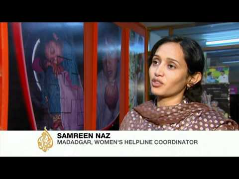 Pakistan fighting domestic violence