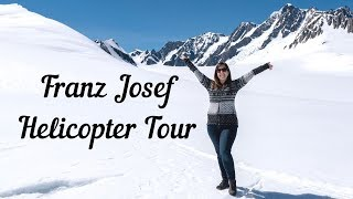 Franz Josef Glacier Helicopter Tour and Hokitika Gorge, New Zealand