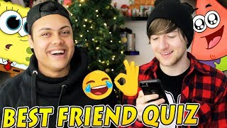 THE BEST FRIEND QUIZ feat. MessYourself