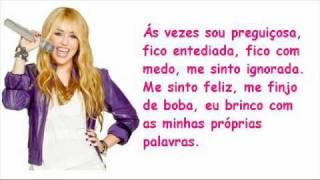 Miley Cyrus - Ordinary Girl (Hannah Montana) LEGENDADO