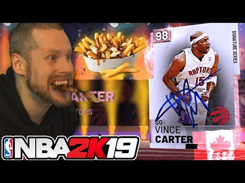 I became Canadian for Vince Carter NBA 2K19