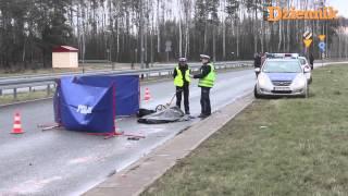 preview picture of video 'Śmiertelny wypadek w Łodzi przed Dellem'