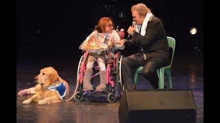 Concert François Valéry organisé pour les 25 ans du comité de jumelage Ordino-Thuir, au profit de la Catalane Handi'chiens