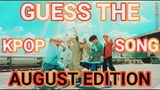 Guess the Kpop Song | Recent Releases AUGUST 2018