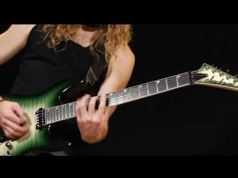 Jackson Pro Series Soloist™ SL2Q MAH in Alien Burst