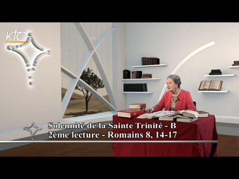 Dimanche de la Sainte Trinité B - 2e lecture