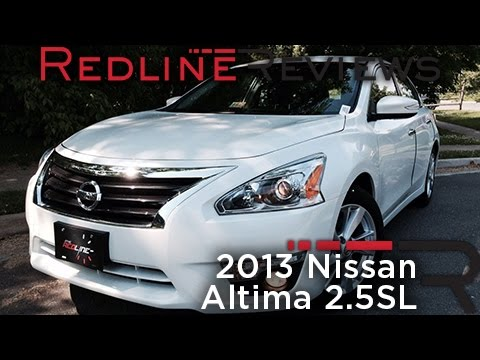 2013 Nissan Altima 2.5SL Review, Walkaround, Exhaust, & Test Drive