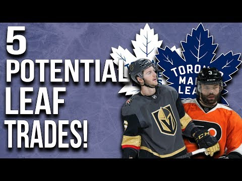 5 Potential Maple Leafs Trades!