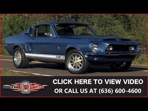 Video of '68 Mustang Shelby GT350 - MNZV