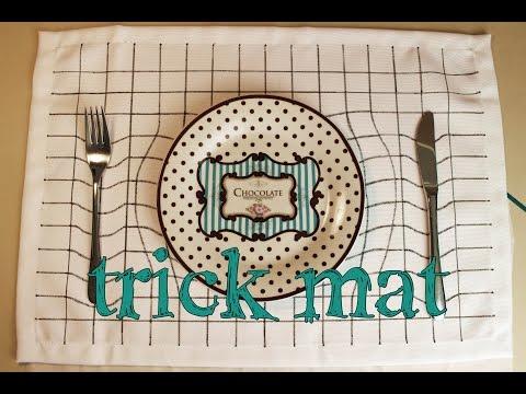 trick mat - Platzdeckchen mit Illusion