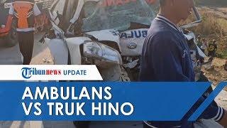 Kronologi Lengkap Kecelakaan Maut Ambulans Jenazah Vs Truk di Tegal, Mobil Hilang Kendali