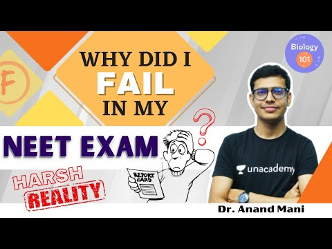 Why Did I Fail in My NEET Exam? | Harsh Reality | Dr. Anand Mani