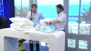 PEARL Vakuum-Beutel zum Einrollen 40 x 60 cm, 2er-Set