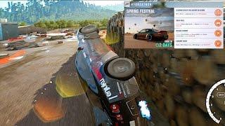 Forza Horizon 3 #Forzathon 15 Barrel Rolls Challenge- Silvia S...