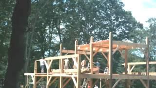 Upton Bass: Barn Raising Saturday August 25th, 2012