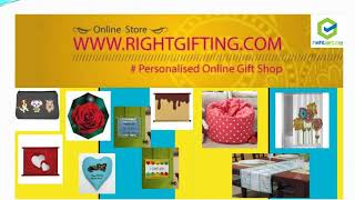 Which is the best online shop for personalized gifts in India?
