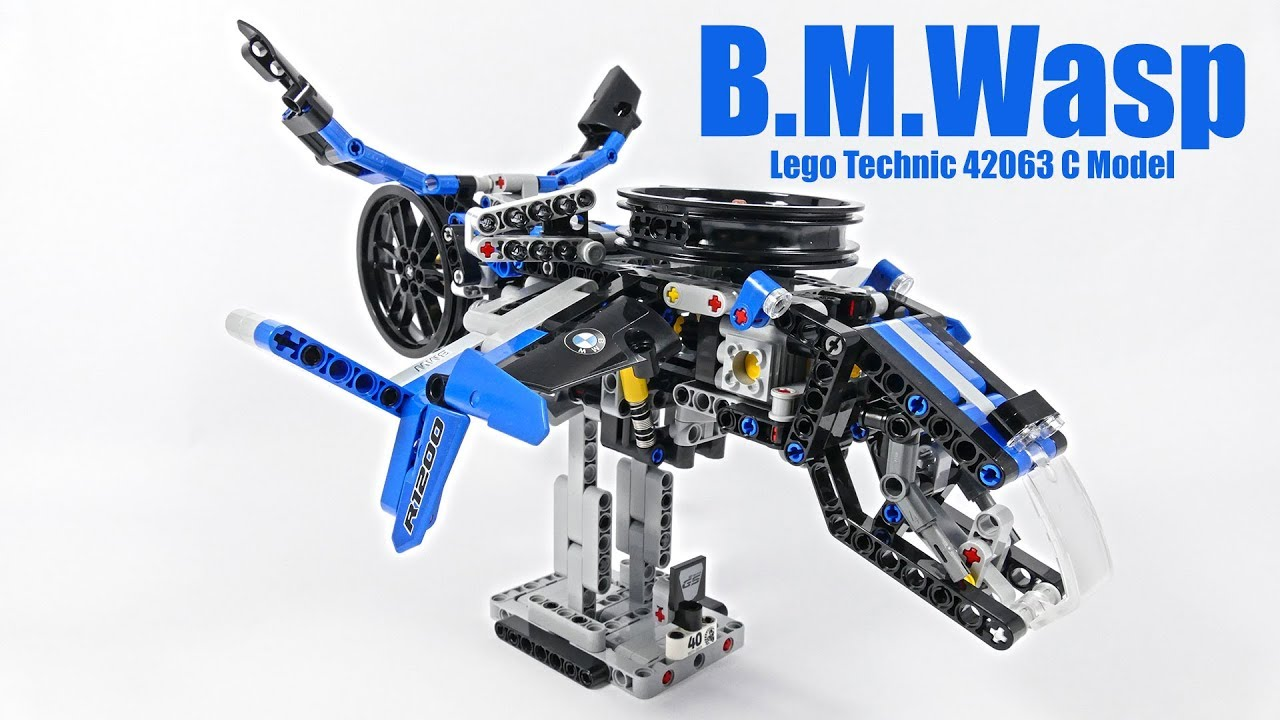 B.M.Wasp - LEGO Technic 42063 C Model