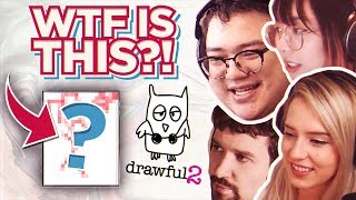 WTF IS THAT? - drawful 2 w/ Lilypichu, Destiny, Natsumiii, Luxxbunny & more [Part #1]