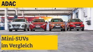 Mini-SUVs im Vergleich | ADAC 2018