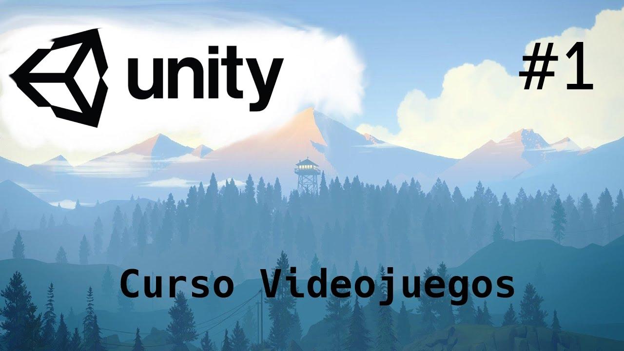UNITY Tutorial 2020/Introducción Fácil y Sencillo/ 1-Capitulo/Programación Videojuegos