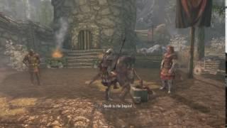 Cмешной Баг в Скайриме| Идеальный воин готов!