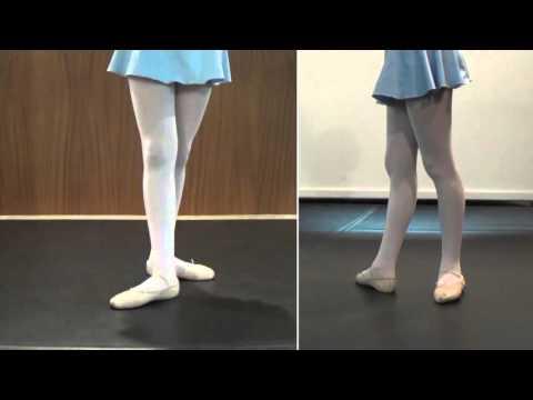Posiciones de Pies en el Ballet Clásico (1/3) - Aprender Ballet Clásico en casa