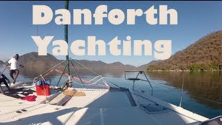 preview picture of video 'Yachting in Lake Malawi National Park, Africa'