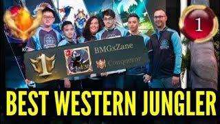 Rank 1 North America! Best Western Jungler   Zane AoV