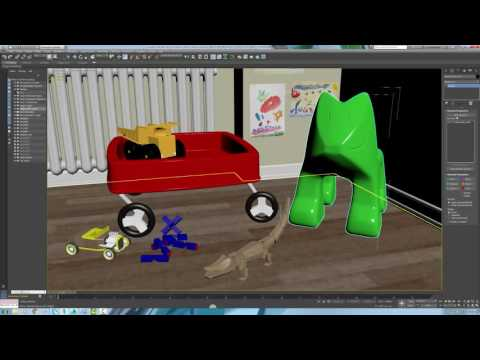3ds Max 2017 High DPI Display