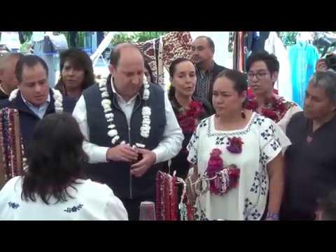 Inauguración de la Expo-Feria Estatal de Emprendedores Indígenas