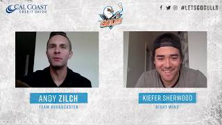 [SD] Gulls at Home: Kiefer Sherwood