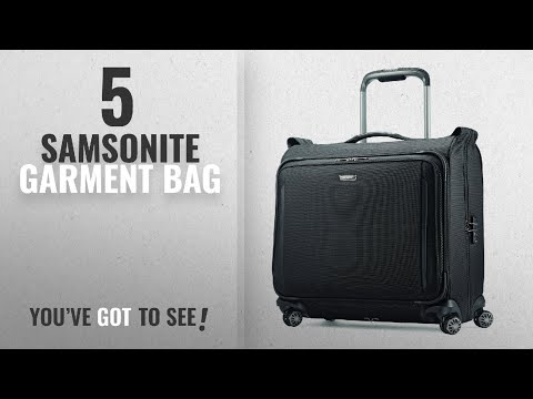 Top 10 Samsonite Garment Bag [2018]: Samsonite Silhouette Xv Softside Duet Voyager, Black