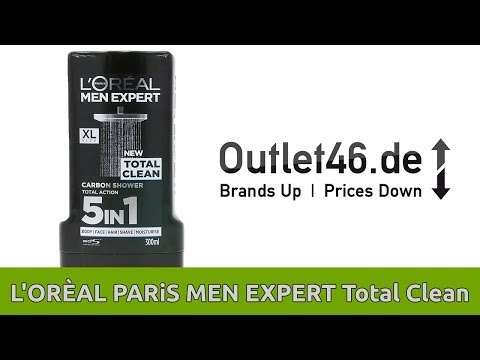 L'ORÈAL MEN EXPERT Duschgel 5 in 1 l ALLES WAS MAN(N) BRAUCHT l DEUTSCH  l Overview l Outlet46.de