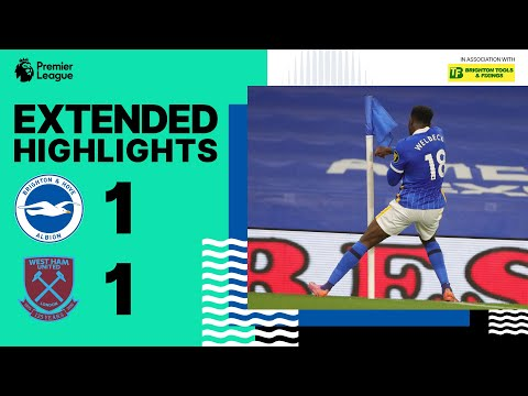FC Brighton & Hove Albion 1-1 FC West Ham United L...