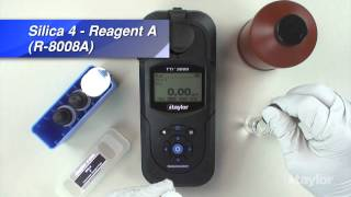 Testing for Silica Using Taylor's TTi Colorimeter (M-3000)