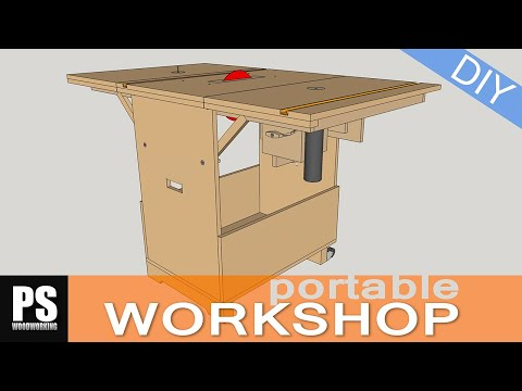 Build A Portable Workshop That Can Handle All Kinds Of Projects And Then Shrink Down In Size