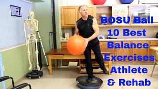 BOSU Ball: 10 Best Balance Exercises For Athlete & Post Rehabilitation.