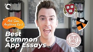 youtube video thumbnail - Harvard, Princeton & Cornell: My Favorite Common App Essays | Ask Sam Anything Ep. 2