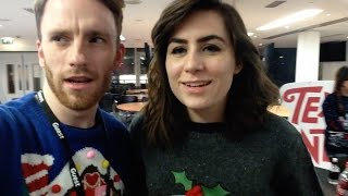 WEARING ALL THE CHRISTMAS JUMPERS!!1
