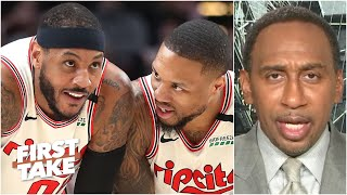 Stephen A. would rather see the Blazers make the playoffs over the Pelicans | First Take