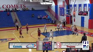 Caston Girls Basketball vs West Central