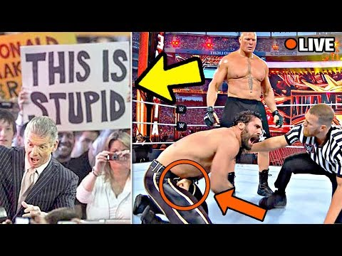 10 WORST Editing Mistakes On WWE LIVE TV! (Bloopers & Fails)