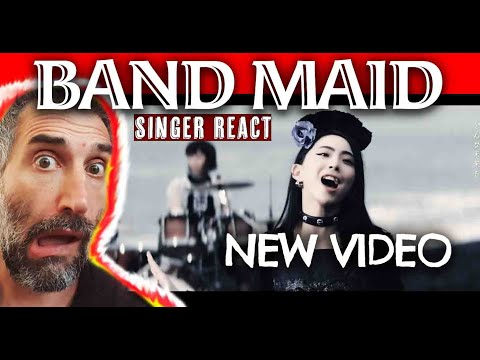 BAND MAID endless Story FIRST time REACTION