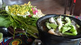 SEAFOOD HOTPOT w/ fermented fish (LẨU MẮM)